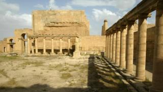 Antik kent Hatra