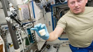 Frasco impreso en la Estación Espacial Internacional