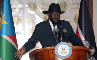Rais wa Sudan Kusini Salva Kiir ametangaza hali ya hatari kaskazini magharibi mwa nchi.