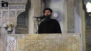 Bağdadi son olarak 2014'te Musul'da görüntülendi