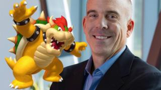 Doug Bowser, right, will take over the firm in April