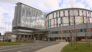 Queen Elizabeth University Hospital complex