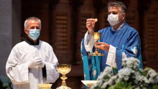 Coronavirus: Over 40 Covid-19 cases traced to church service in Germany thumbnail
