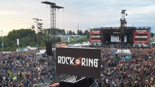 Площадка фестиваля Rock and Ring