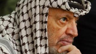 Eski Filistin lideri Yaser Arafat