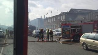 Fire at Hainge Road