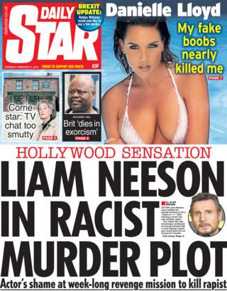 Daily Star front page, 5/2/19