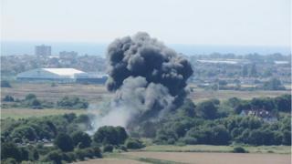 Shoreham air crash