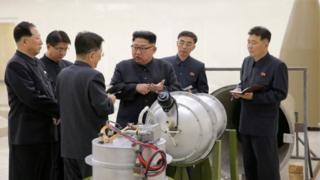 Bắc Hàn, hạt nhân