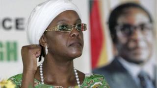 Umugore wa Perezida Robert Mugabe, Grace Mugabe