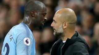 Toure and Guardiola