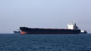 Basra Körfezi'nde tanker