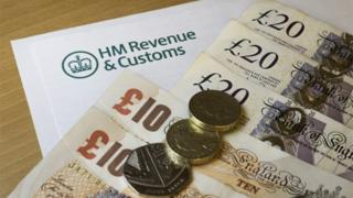 HMRC and money generic shot