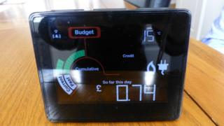 Smart meter, in-home display