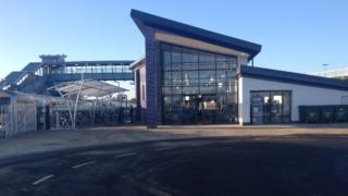 The new Bicester Village Station
