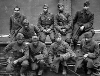 These WWI soldiers returned to France in 1919 to receive the Croix de Guerre medal