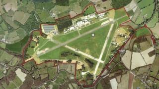 Dunsfold Park development site
