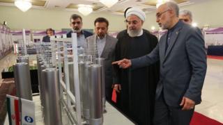 Hassan Rouhani, presidente de Irán