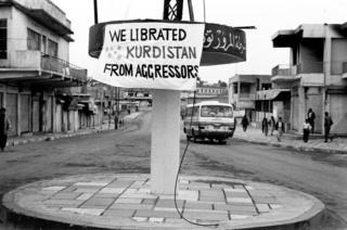 Zakho, northern Iraq, Kurdistan. March 1991