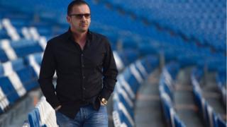 Mijatović na stadionu Santijago Bernabeu u Madridu