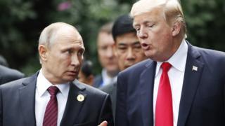 Putin ve Trump aynı karede