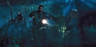 Scene from the film Jurassic World