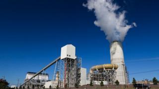 US coal power station