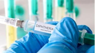 Diphtheria vaccination