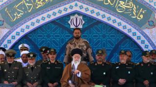 فرماندهان سپاه و خامنهای
