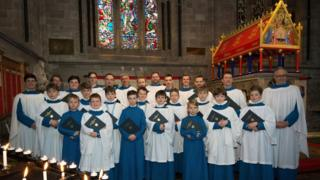 Hereford Cathedral choir