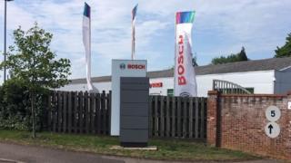 Bosch plant in Suffolk