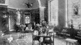 Interior of Montpellier Baths in Cheltenham in 1932