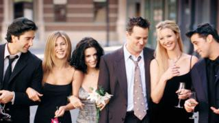 Friends is the UK's most popular subscription streaming show