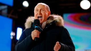 रशियाचे राष्ट्राध्यक्ष व्लादिमिर पुतिन