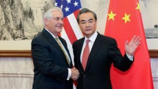 وزيرا خارجية الولايات المتحدة والصين