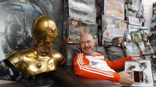 Dave Oldbury and his Star Wars collection