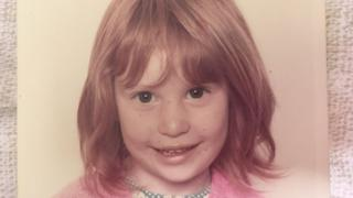 Jeni Haynes, aged four