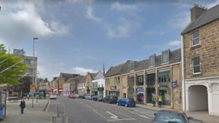 High Street in Dalkeith
