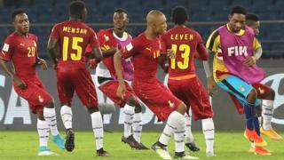 Ghana will meet Mali in the quarter-finals on Saturday in Guwahati