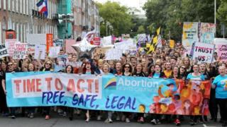 Rally in Dublin in September
