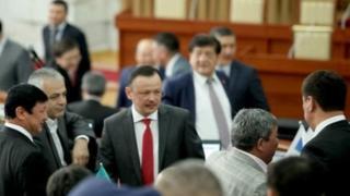 Qirg'iziston parlamenti a'zolari