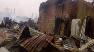 Fire burn Azare main market for Bauchi, Nigeria