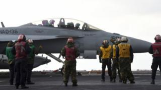 """""""Пером"""" пілота ВМС став винищувач Boeing EA-18G Growler"""