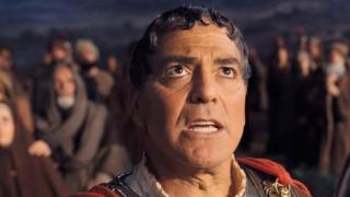 George Clooney as Caesar in his new film.