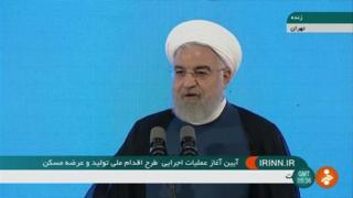 روحانی می گوید آمریکا تحریمها را لغو کند تا دیدار کنیم