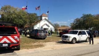 टेक्सस में गोलीबारी