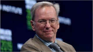 Eric Schmidt is to leave Alphabet's board in June