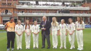 Newport under-13 girls