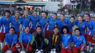 تبت خواتین فٹبال ٹیم