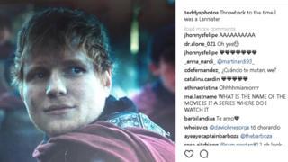Ed Sheeran como personaje de Game of Thrones